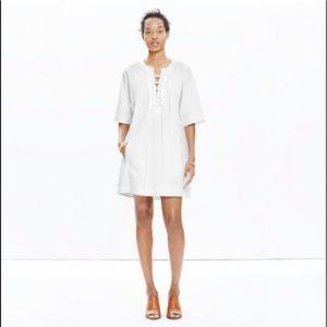EUC Madewell X Daryl K Beverly Lace-Up Dress XS
